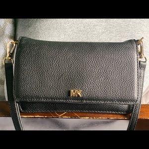 MK Pebbled Leather Convertible Crossbody